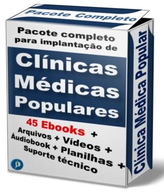 CLINICA MÉDICA POPULARA pacote completp